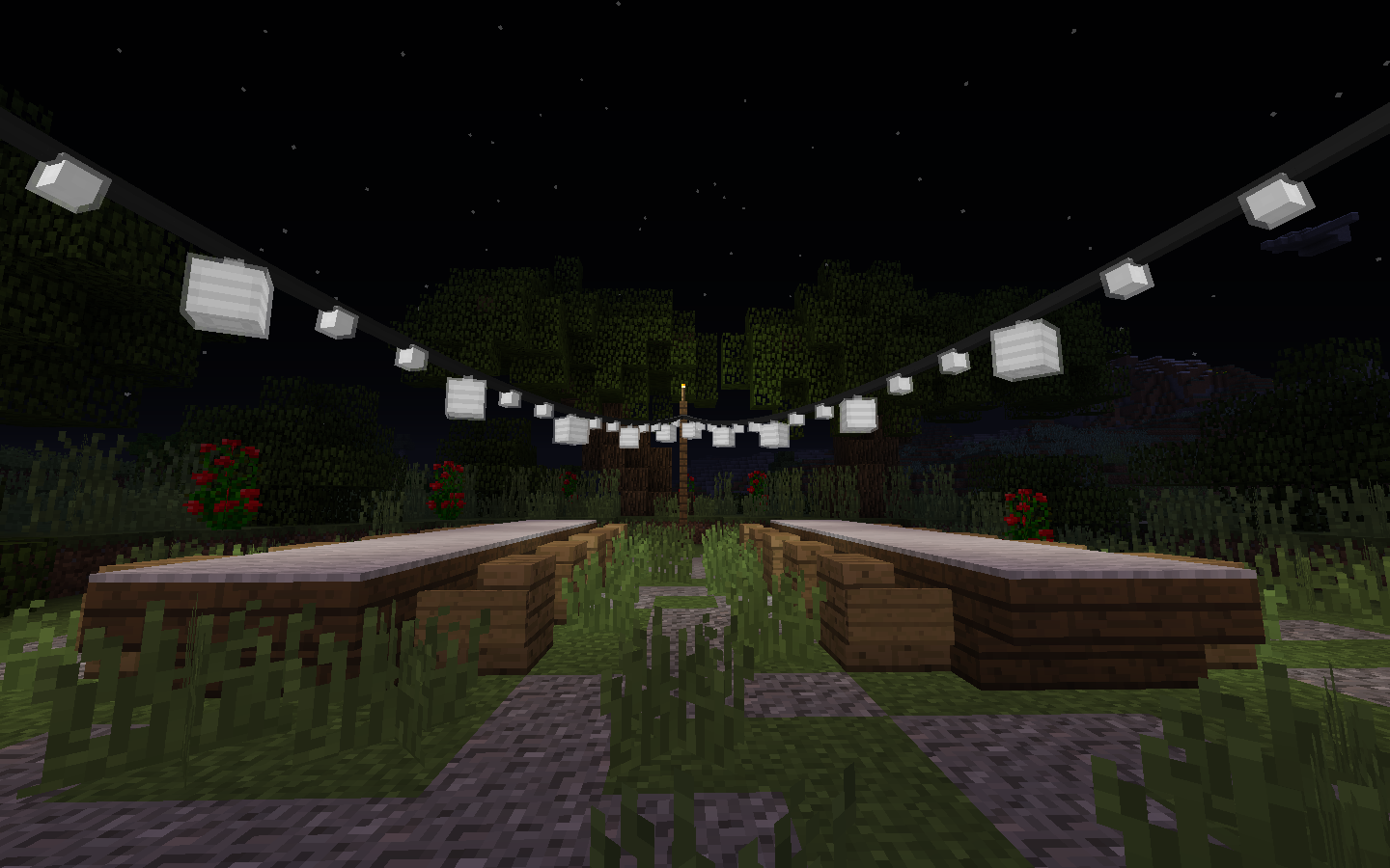 Minecraft Wall Light Mod : [1.8.0] FairyLights Mod Installer!