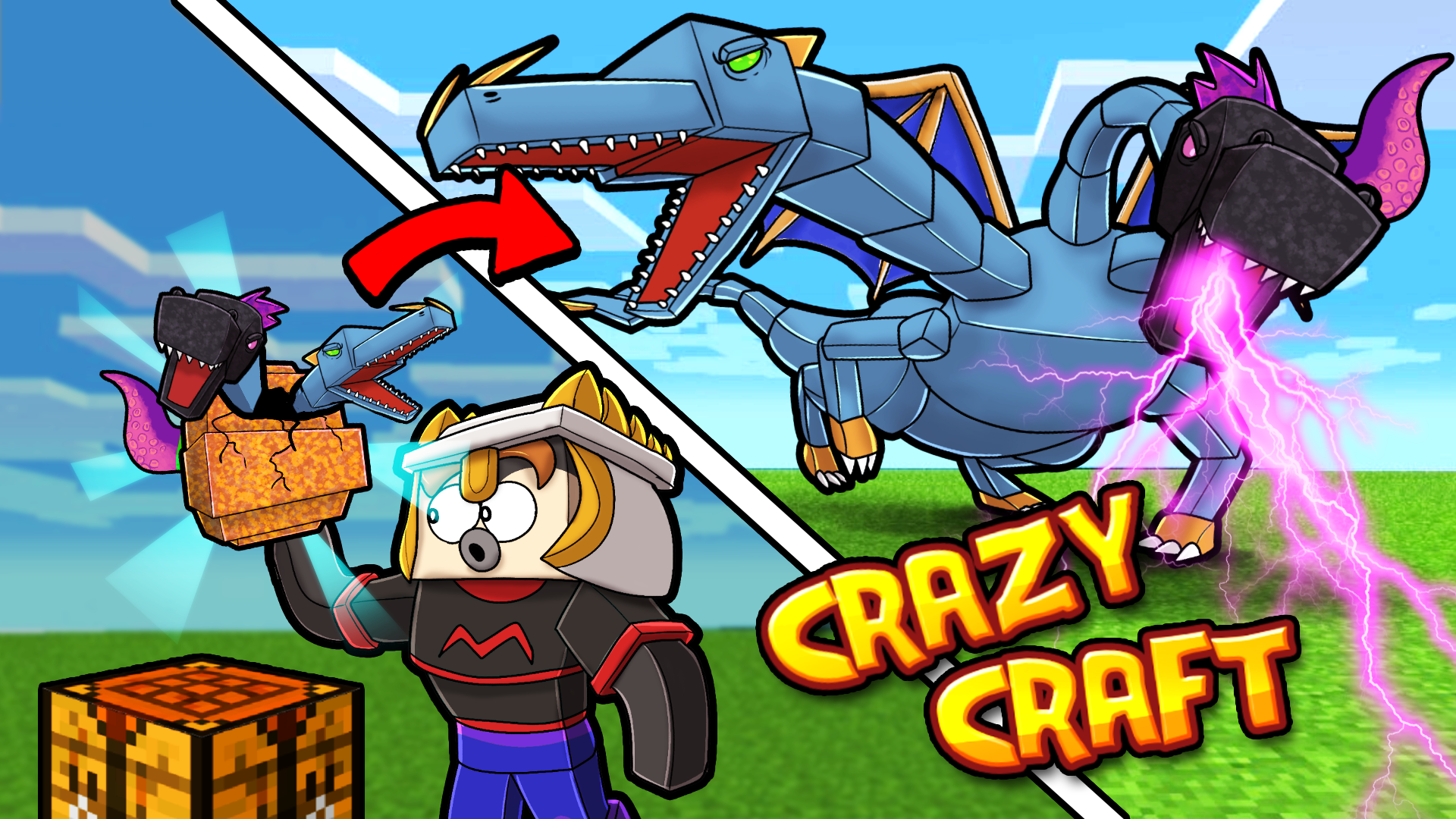 Crazy-Craft-Cody-Vs-Queen-Dragon