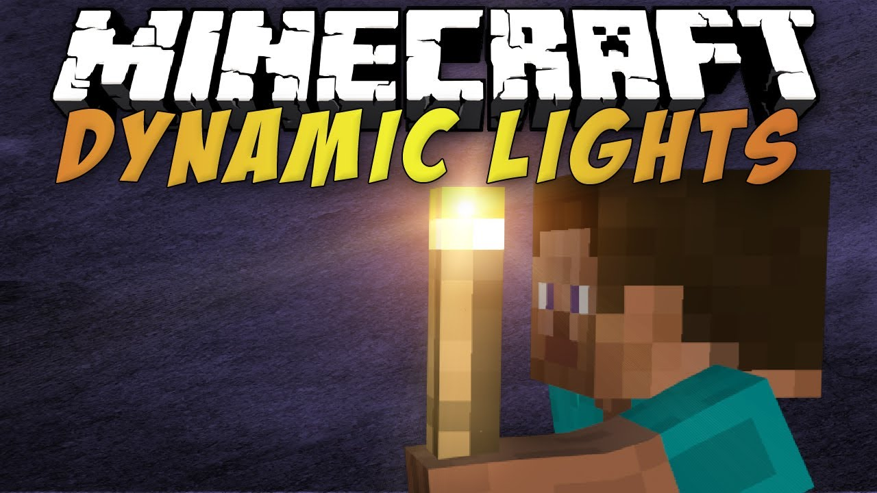Dynamic-Lights-Mod-Minecraft-1.8.8-1.8-1.7.10-1.7.2