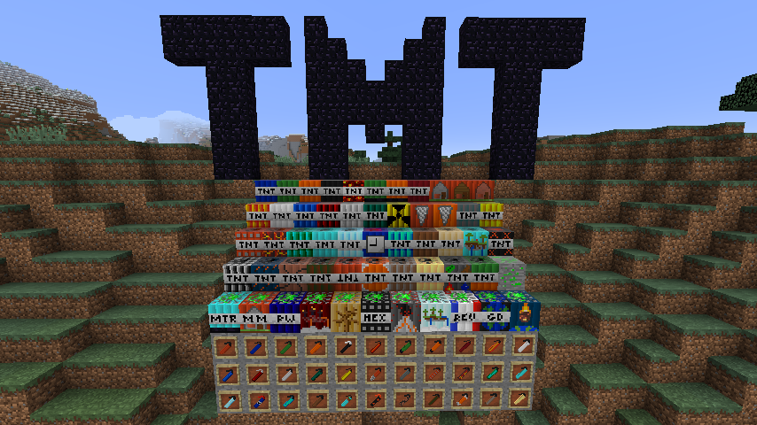 Super tnt mod 9minecraft. Net.
