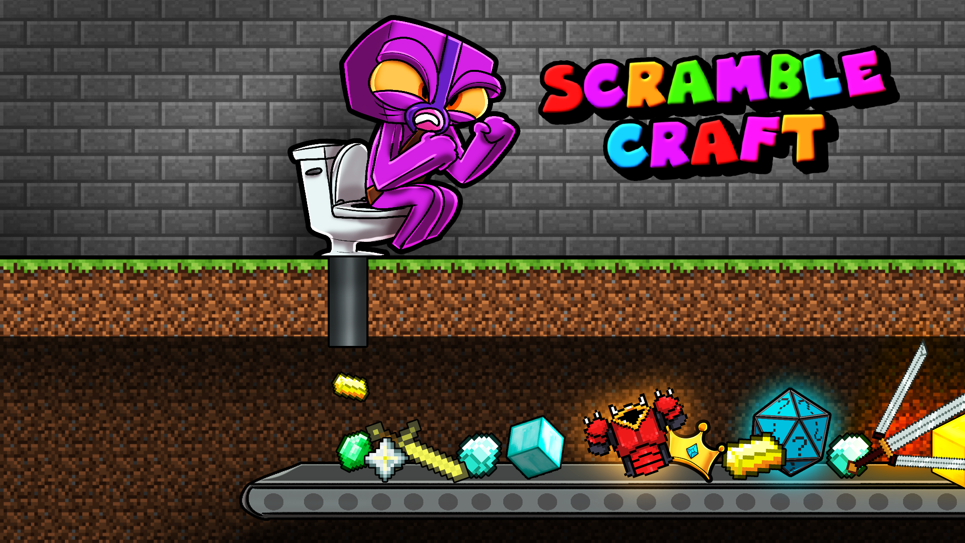 Scramble-Craft-Kraken-Item-Toilet