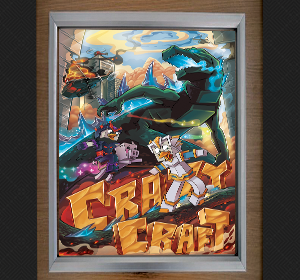 Signed Crazy Craft Poster $29.99