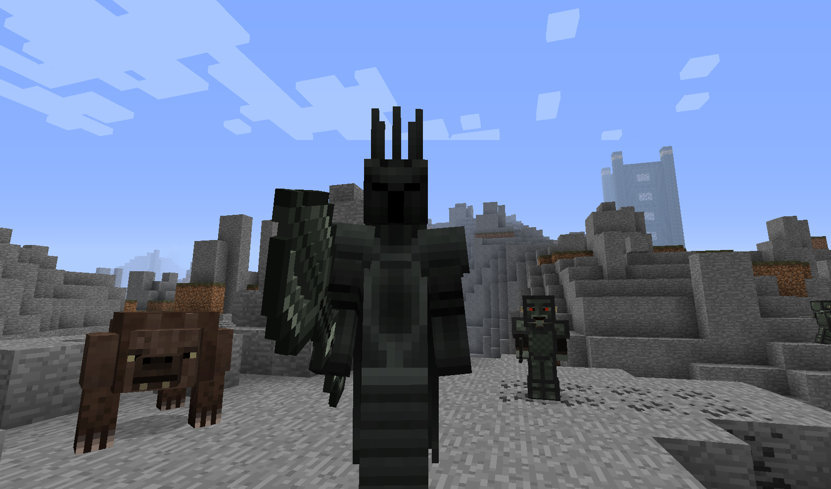 Minecraft Lord Of The Rings Server No Mods