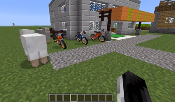 Bikes Mod 1.6.4 Gallery Download Instructions