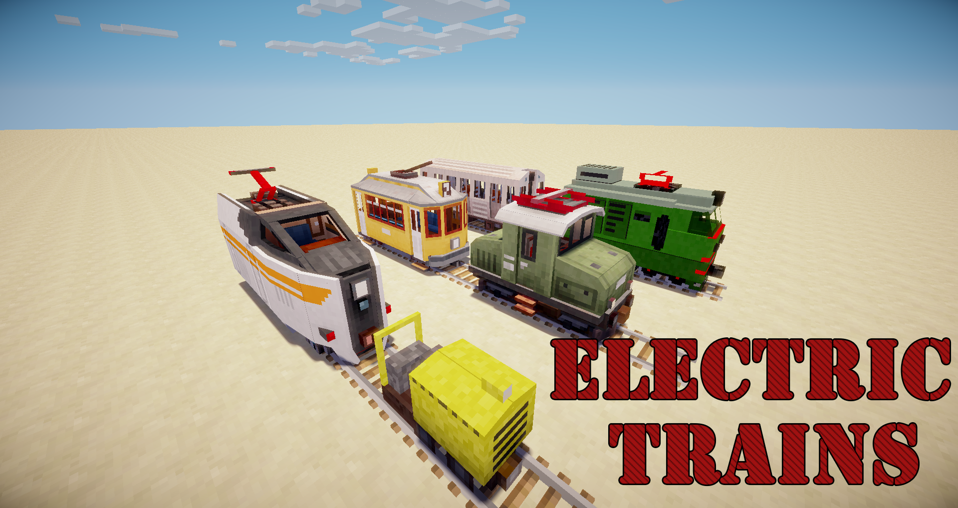 Traincraft showcase trains in minecraft! Youtube.